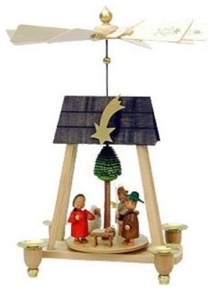Seiffener Christian Ulbricht Nativity Pyramid traditional-holiday-decorations