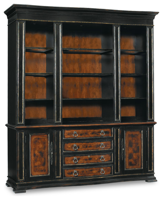Hooker Furniture Grandover Bookcase Base 5029-10265 transitional-bookcases