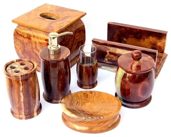 Marble Bathroom Accessory Sets Offered By Nature Home Decor Traditional Bathroom Accessory