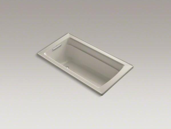 "KOHLER Archer(R) 60"" x 32"" drop-in bath with reversible drain contemporary-bathtubs"