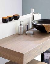 Wooden vanity top | Bathrooms | Pinterest