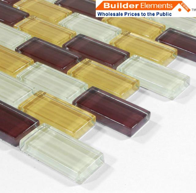 Crystal Glass Tile, Glass Mosaic Tile, Glass Tile COB0032 modern