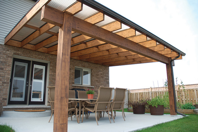 Acrylic Roof Amp Patio Covers Transitional Porch