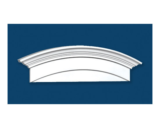 Window Heads - Polyurethane Window Head. Get a great look with all of our window heads that come in Several different sizes including custom!