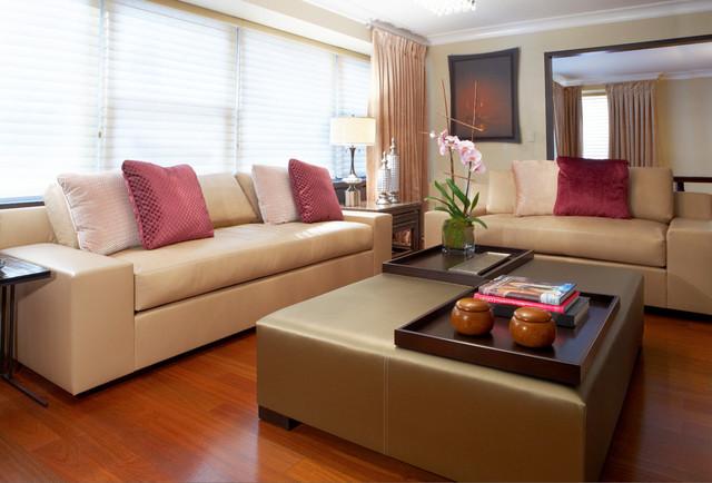 Custom Made Sofas Modern Sofas New York By Aguirre Design