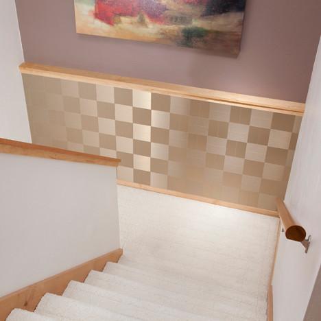 Alternative uses for backsplash products modern tile for Alternative kitchen backsplash ideas