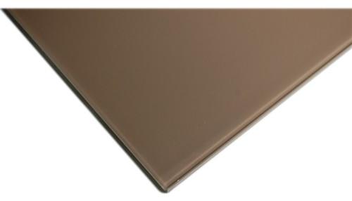 Laser Cut Mocha Glass Tile contemporary-tile