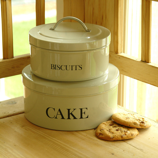 Cake and Biscuit Tins traditional-food-containers-and-storage