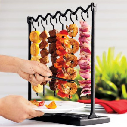 Skewer Station and Skewers contemporary-specialty-cookware