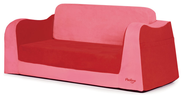 Little Sofa Sleeper Red Contemporary Kids Sofas By