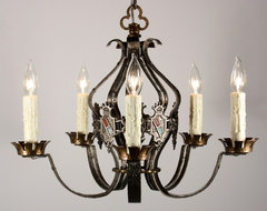 Antique Tudor Lighting traditional-chandeliers