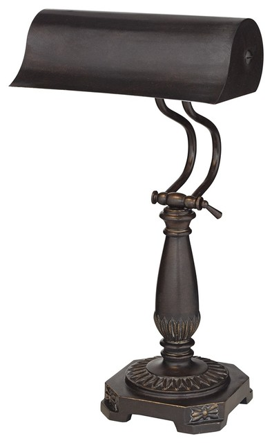 Traditional Bronze Finish Piano Desk Lamp traditional table lamps