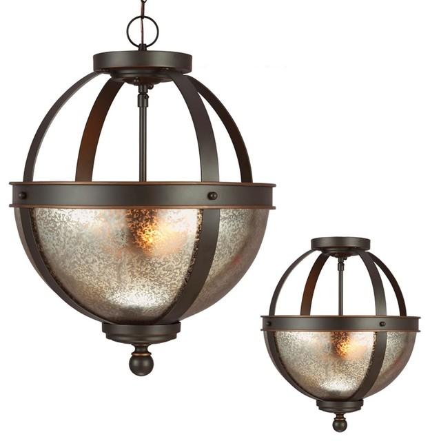 demi globe semi flush mount ceiling light flush mount