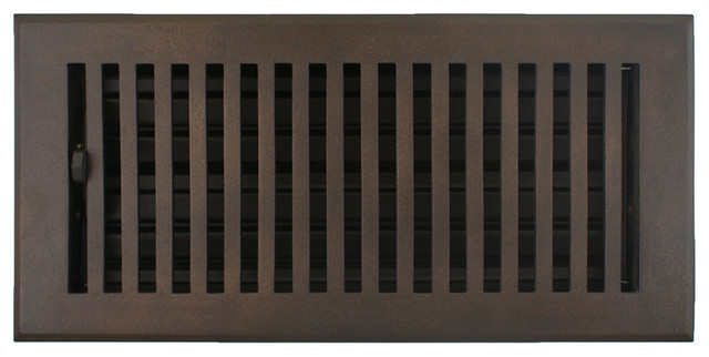 Flat Floor Register Contemporary Registers Grilles And