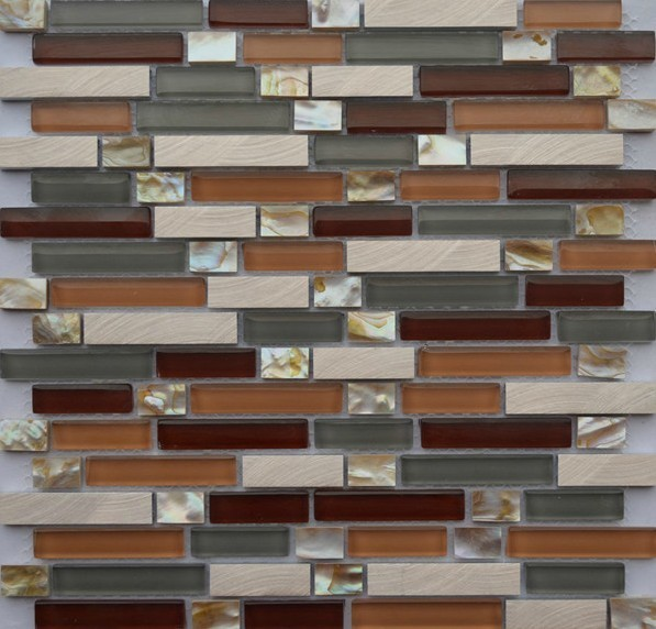 stainless steel mosaic tiles ssmt050 glass mosaic tile