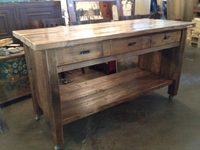 Eclectic  Kitchen Islands And Kitchen Carts  los angeles  by Silver