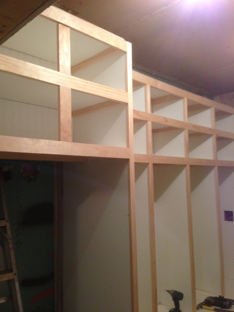 Custom Built In Mudroom Lockers Minneapolis By Home