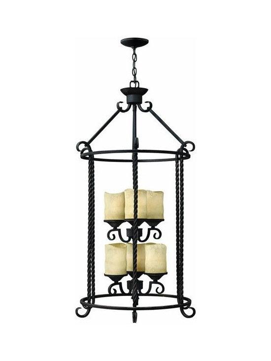 Hinkley Lighting 3506OL Hanger 6 Light Foyer Casa Collection -