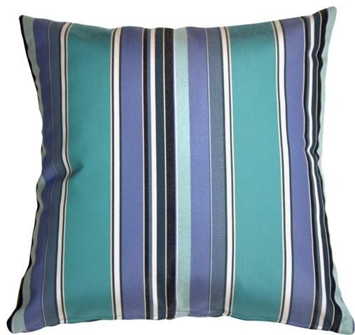 Pillow Decor - Sunbrella Dolce Oasis 12 x 20 Outdoor Pillow contemporary-outdoor-cushions-and-pillows