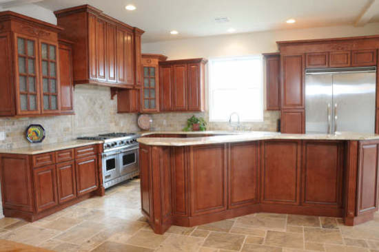 Kitchen Cabinets  Sienna Rope Door Style  Kitchen Cabinet Kings