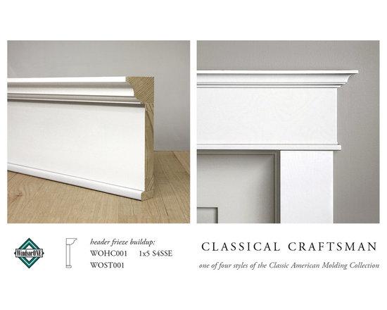 WindsorONE Classical Craftsman Casing & Header Moldings -