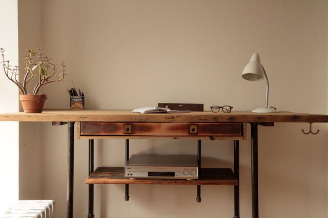 Industrial Reclaimed Wood Standing Desk Rustic Desks