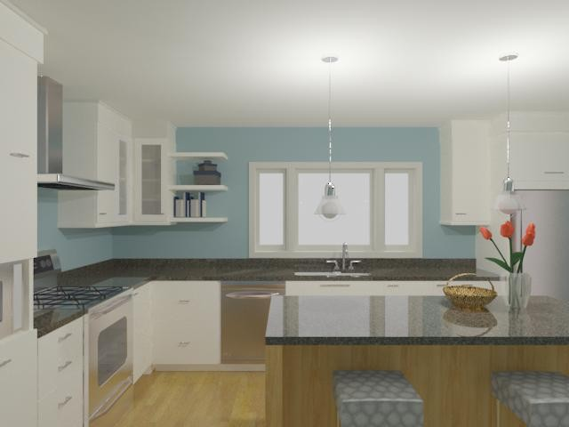 Kitchen Renderings contemporary