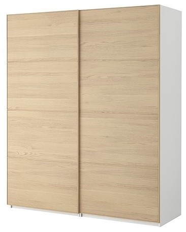 PAX Wardrobe with sliding doors modern-dressers-chests-and-bedroom-armoires