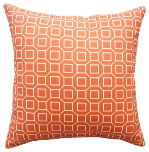Hexagon Polyester Pillow modern-bed-pillows-and-pillowcases