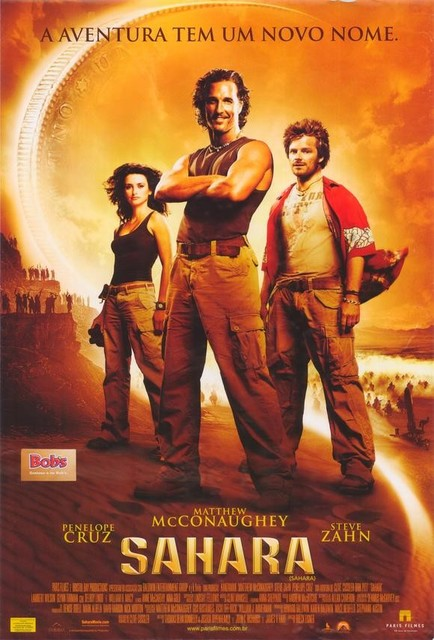 Sahara 27 x 40 Movie Poster - Brazilian Style A prints-and-posters