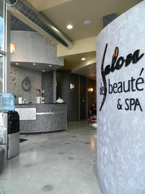 Downtown Bellevue Salon Spa Seattle By Parr Cabinet
