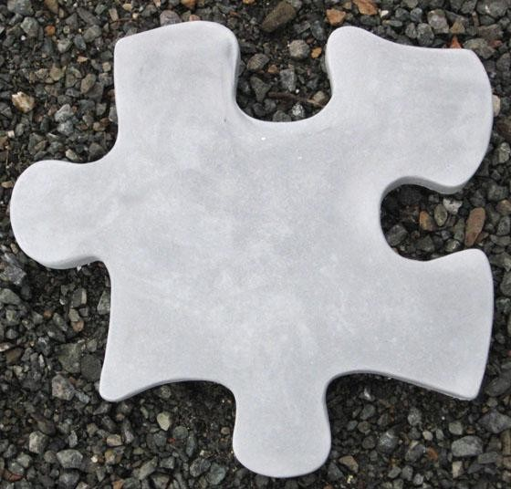 Puzzle Stepstone B Statue - Stepstones eclectic-outdoor-products