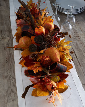 Autumn Centerpiece traditional holiday decorations