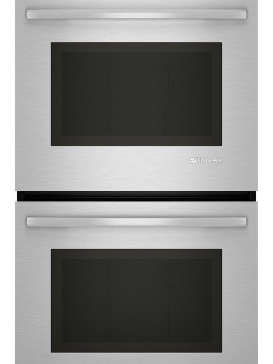 "Jenn-Air 27"" Double Electric Wall Oven, Stainless Steel With Black 