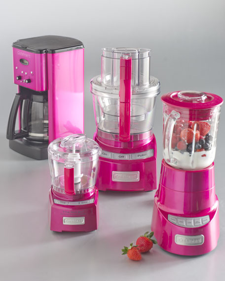Compact Kitchen Appliances: Cuisinart Metallic Pink Kitchen Appliances