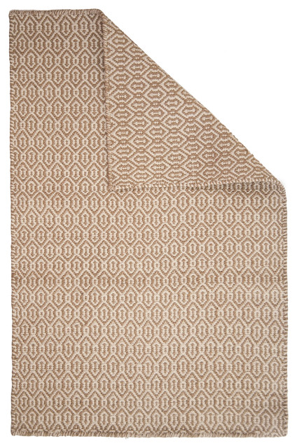Deerfield Taupe/Natural Eco Cotton Rug contemporary-rugs