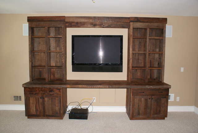 Buttrey media cabinet - Eclectic - Storage Units And Cabinets - jacksonville - by Paravan Wood ...