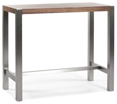 ... Bar Table - Contemporary - Indoor Pub And Bistro Tables - by Hayneedle