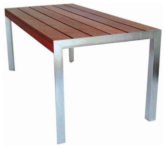 Modern Outdoor 5 39 Etra Table Modern Outdoor Dining Tables By