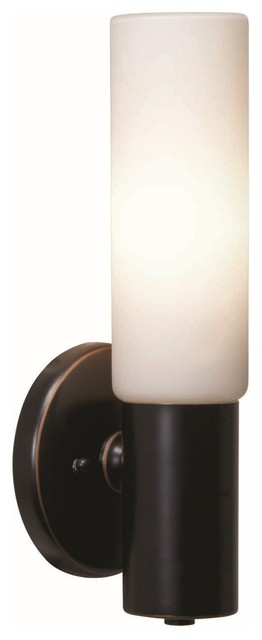 Access Cobalt 1-light Oil-Rubbed Bronze Wall Fixture contemporary-wall-lighting