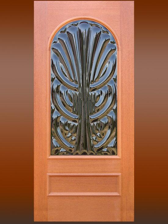 """Sculptural Glass Doors - """"Fount"""" – Sculptural Glass Door -"""