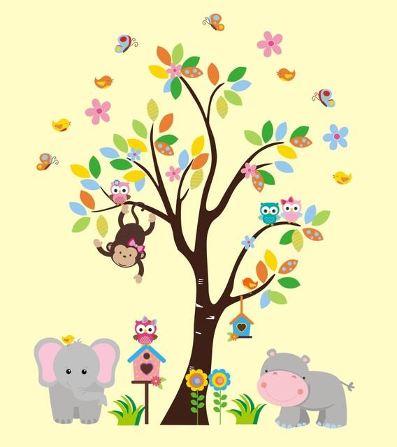 Dorable Jungle Nursery Wall Decor Festooning - Wall Art Design ...