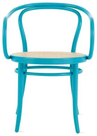 Era Round Armchair with Cane Seat contemporary-living-room-chairs