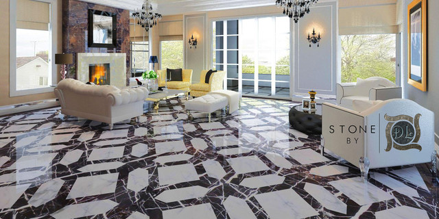 Magic Tile Designs traditional-floor-tiles