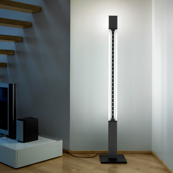Aurora tower 180 floor lamp by lumina lighting modern for Modern tower floor lamp