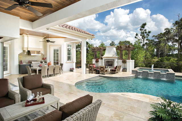 Amalfi 1214 Contemporary Pool Tampa By Arthur