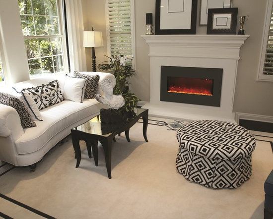 Amantii WM-BI-28-3421-BLKGLS - Jeanne Grier/Stylish Fireplaces & Interiors