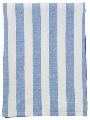 Parisian Blue Tablecloth traditional-tablecloths