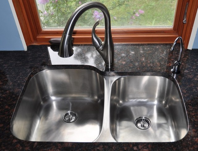 undermount kitchen sink. brilliant elegant black kitchen sink with