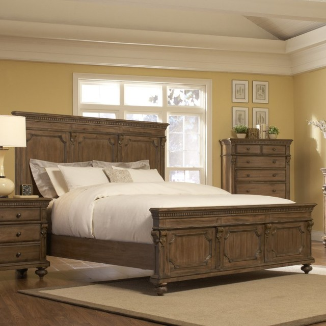 Eastover Panel Bed Set Multicolor - HME1884 contemporary-beds